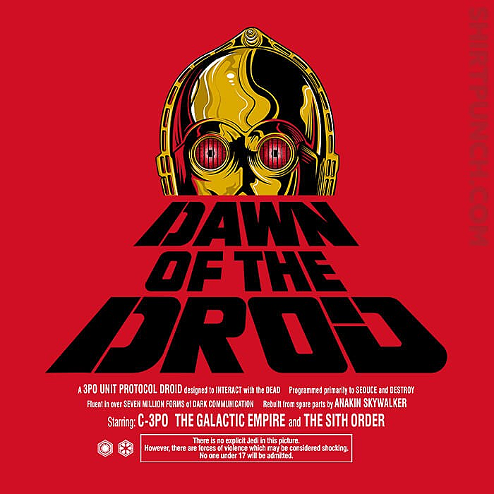 ShirtPunch: Dawn Of The Droid