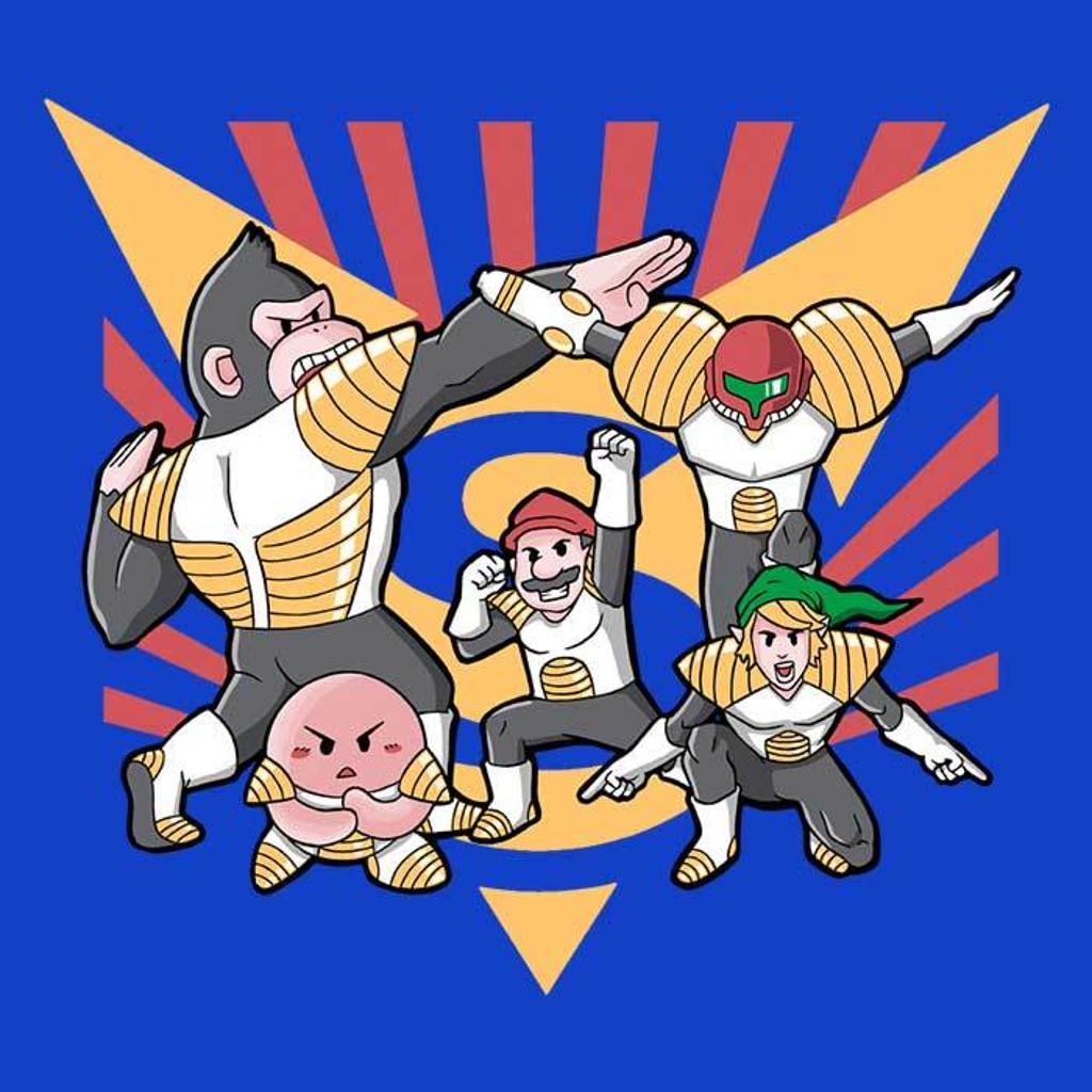 Once Upon a Tee: Smash Force