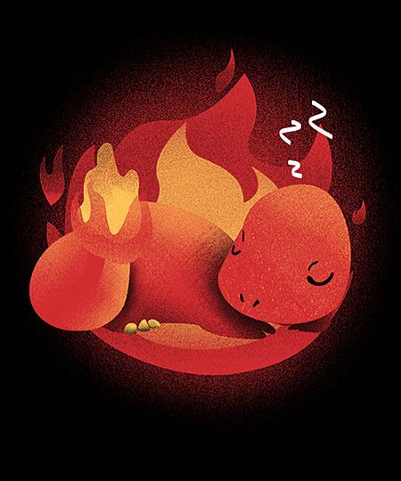 Qwertee: Sleeping Fire