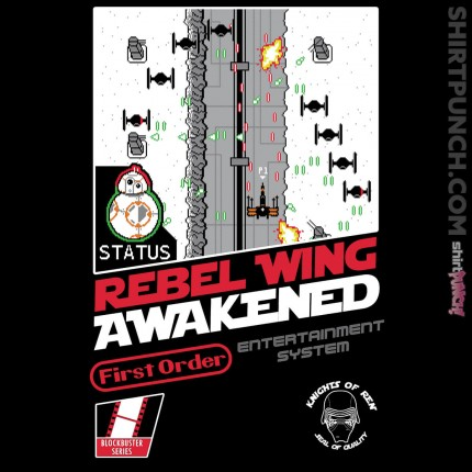 ShirtPunch: Rebel Wing Awakened