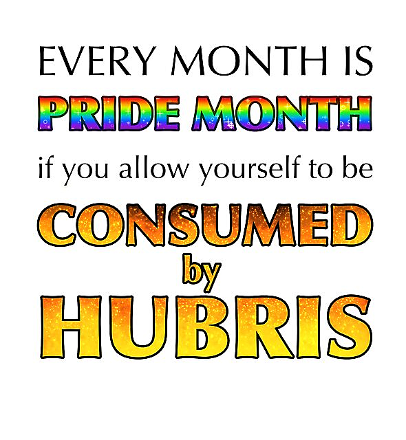 RedBubble: Consumed By Hubris