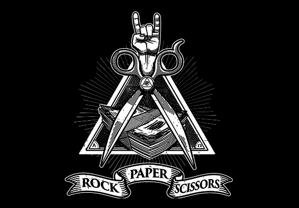 teeVillain: Rock, Paper, Scissors