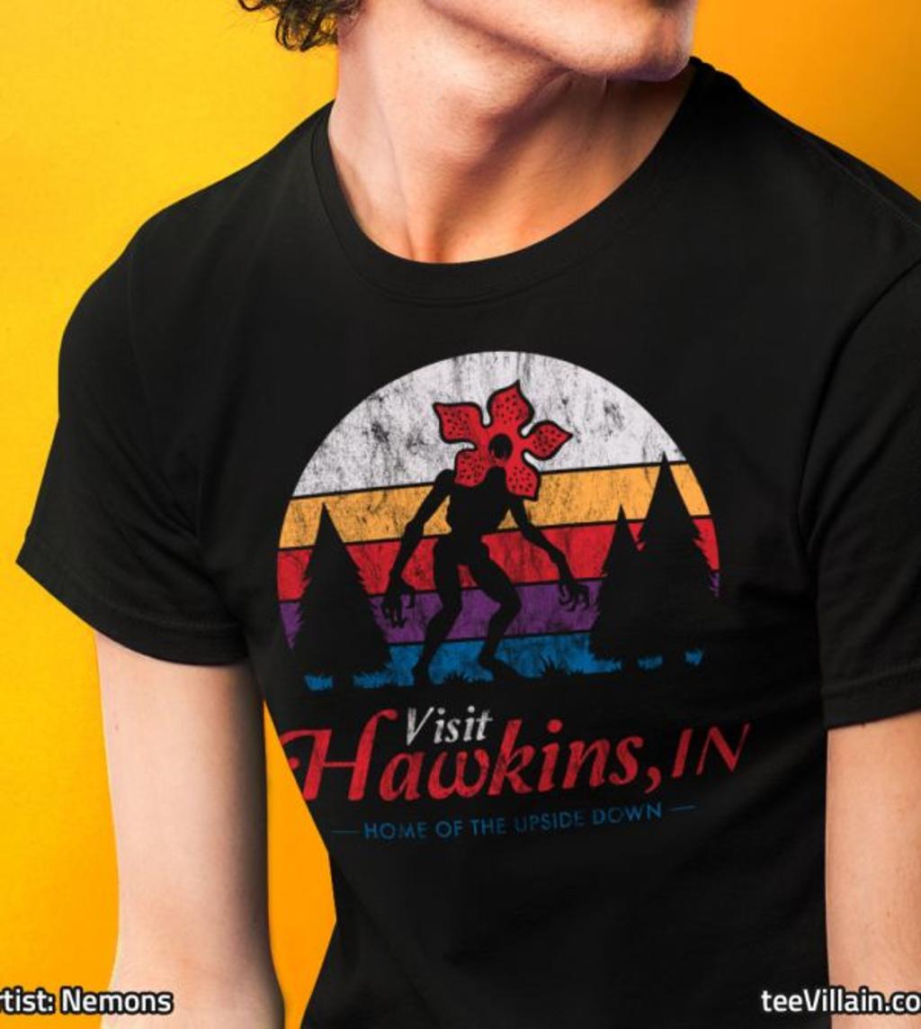 teeVillain: Visit Hawkins