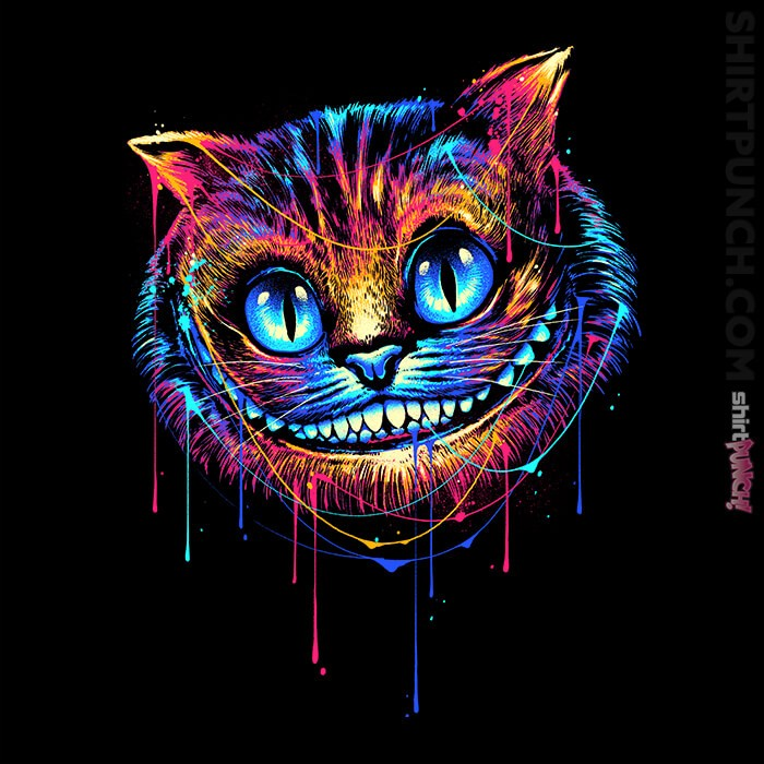 ShirtPunch: Colorful Cat