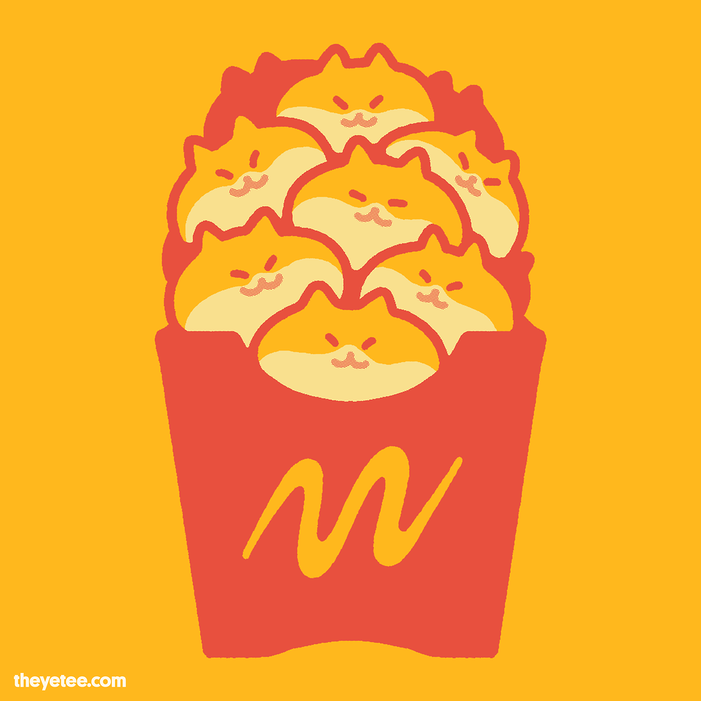 The Yetee: Friendch Fries