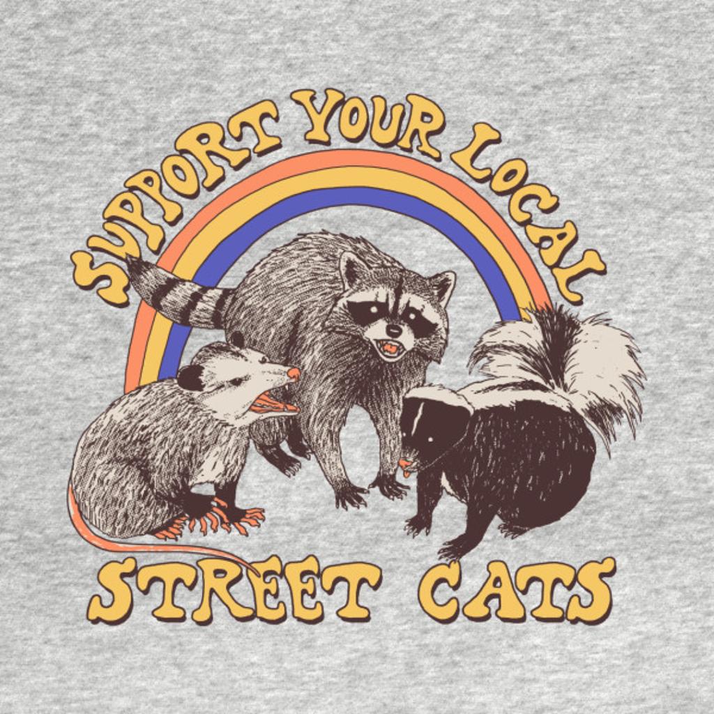 TeePublic: Street Cats