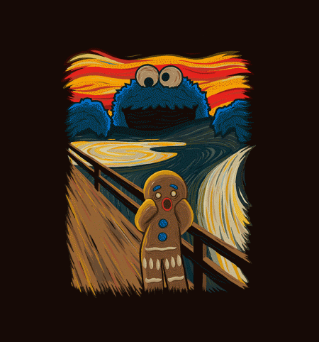BustedTees: The Cookie Muncher