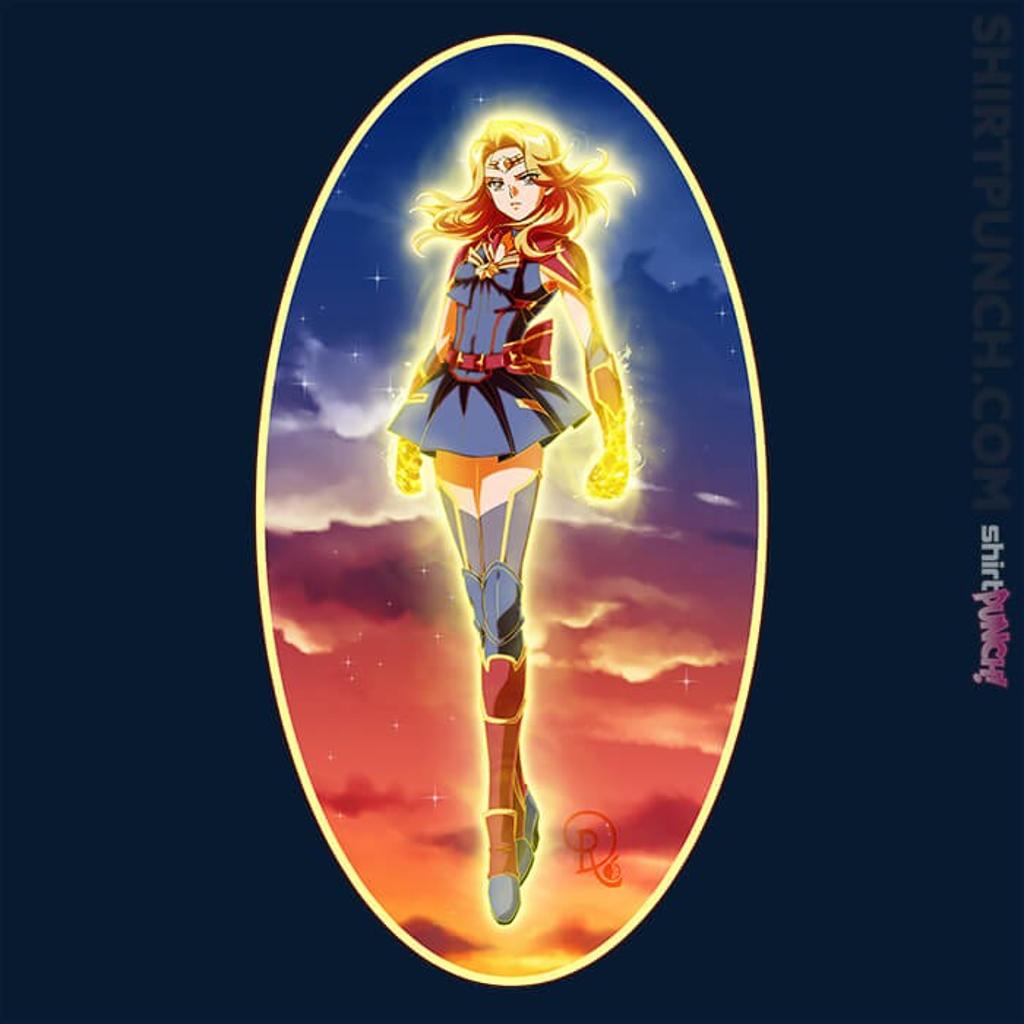 ShirtPunch: Sailor Captain Marvel