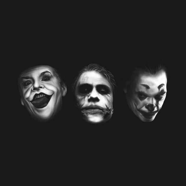 TeePublic: The Three Jokers