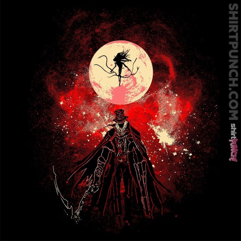 ShirtPunch: Moon Presence Art