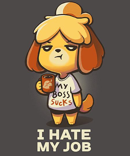 Qwertee: I hate my job