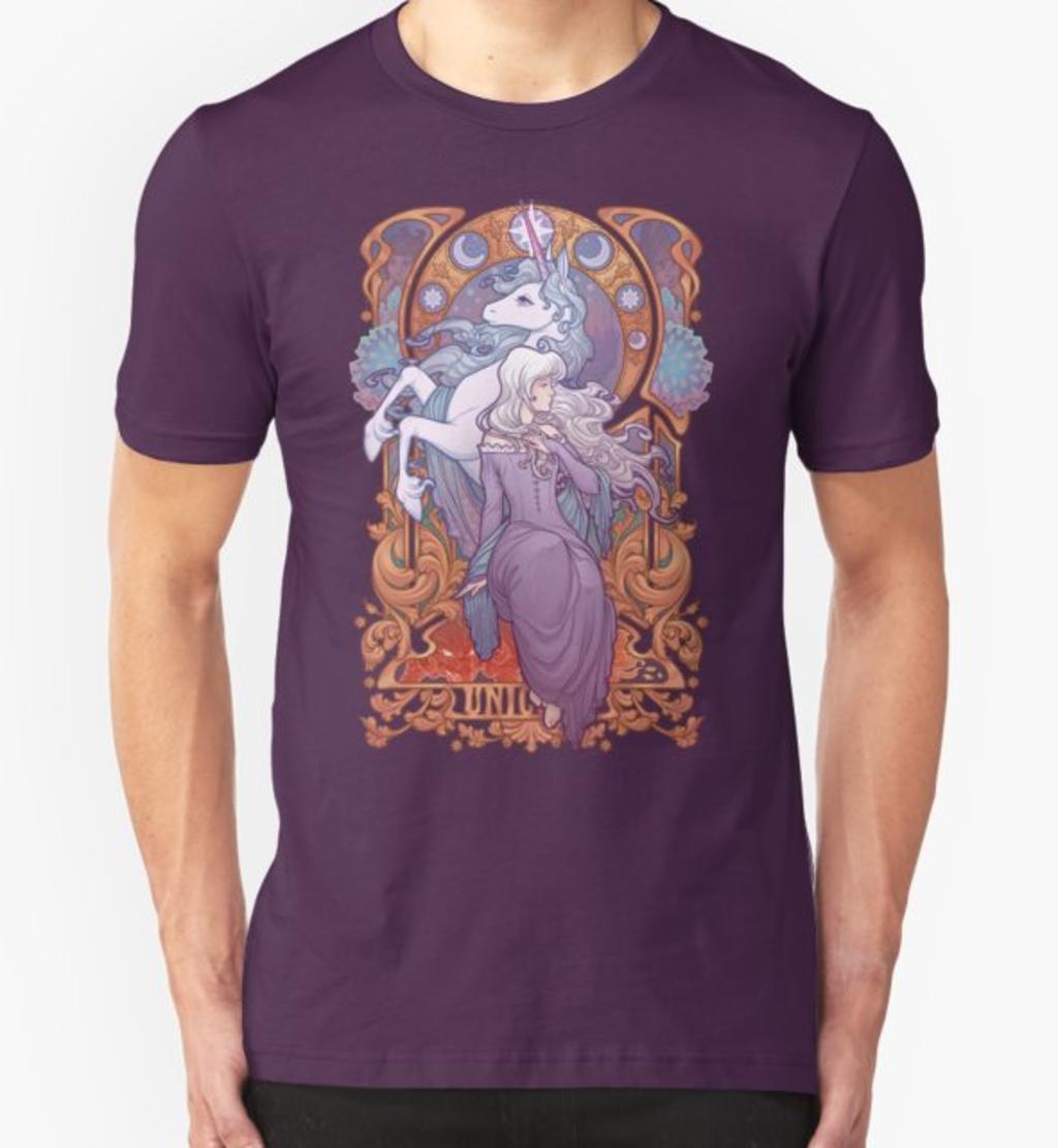 RedBubble: Lady Amalthea - The Last Unicorn