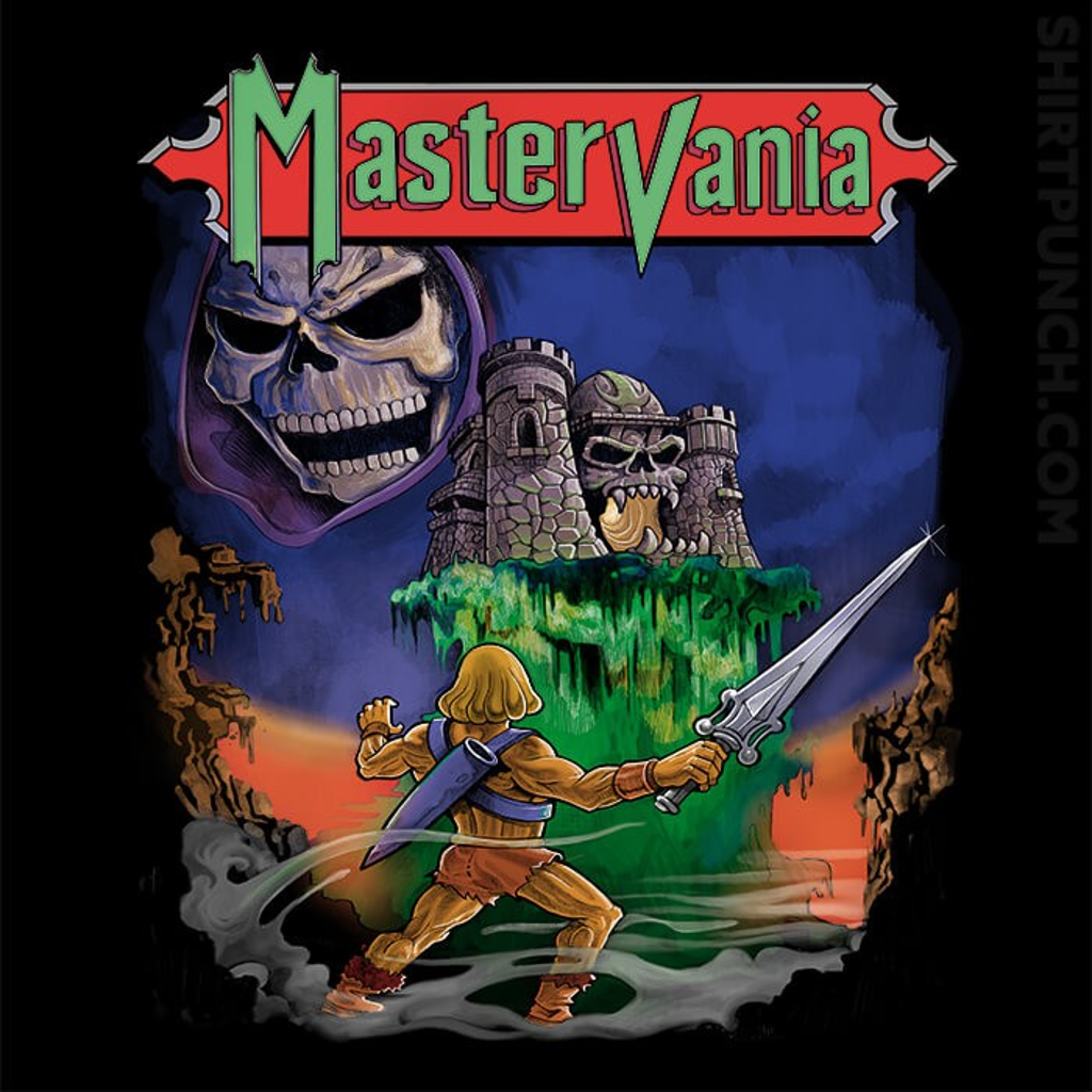 ShirtPunch: Mastervania