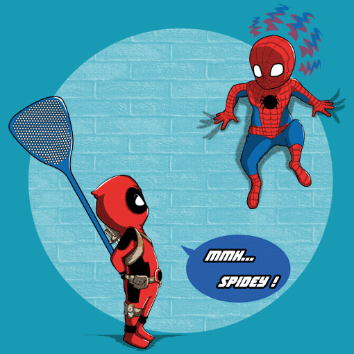 TeeFizz: Hello Little Spidey