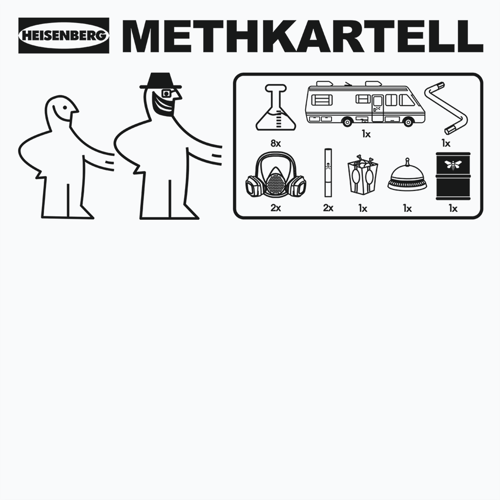 Pop-Up Tee: Methkartell