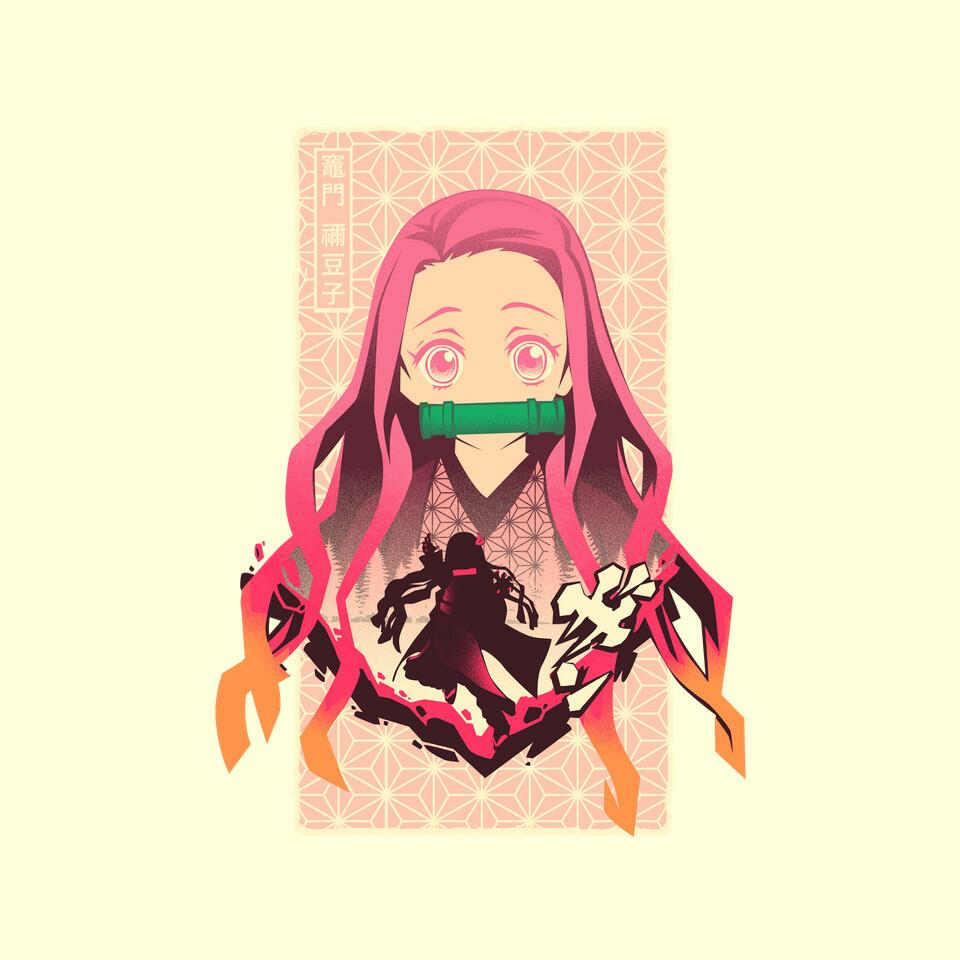TeeFury: Nezuko Beauty
