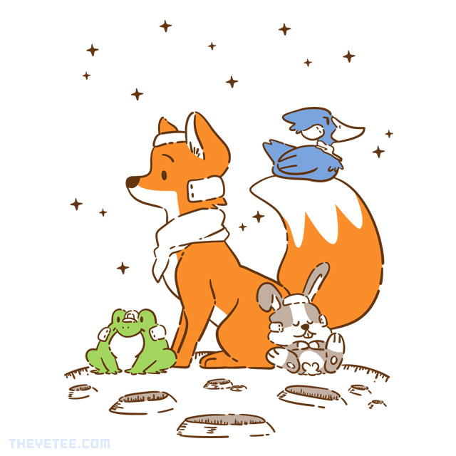 The Yetee: Space Friends