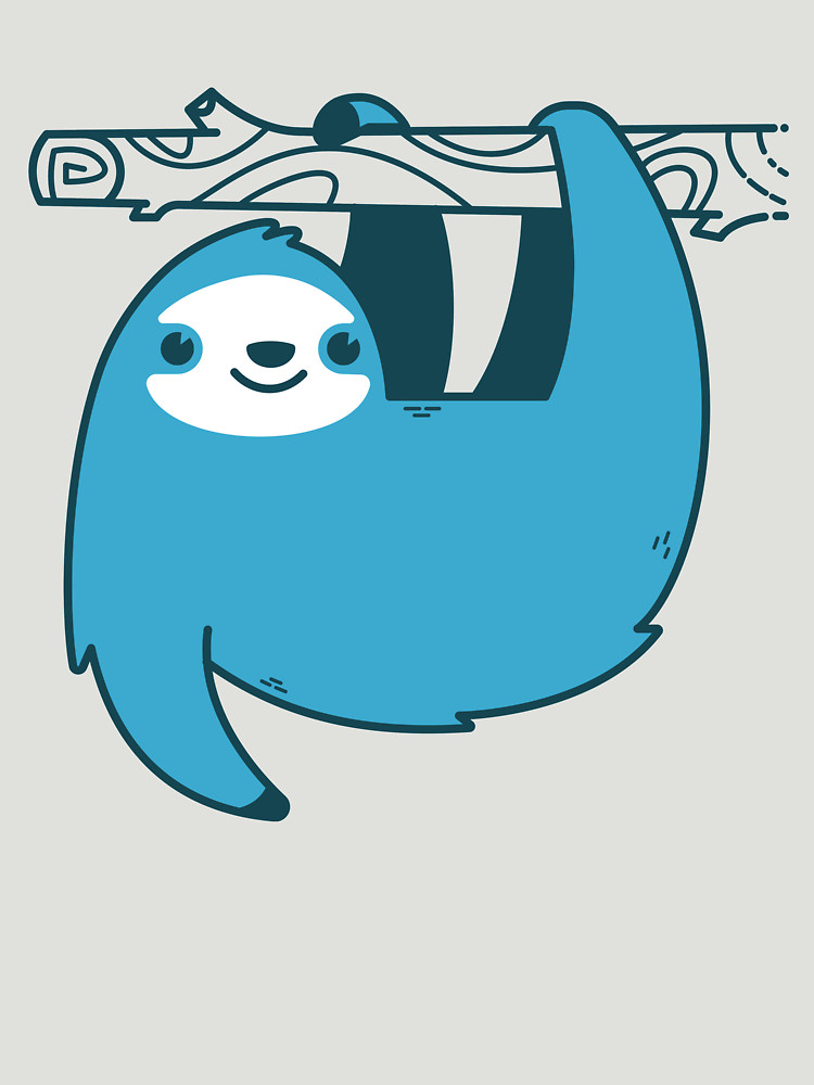 RedBubble: Sloth on a Branch