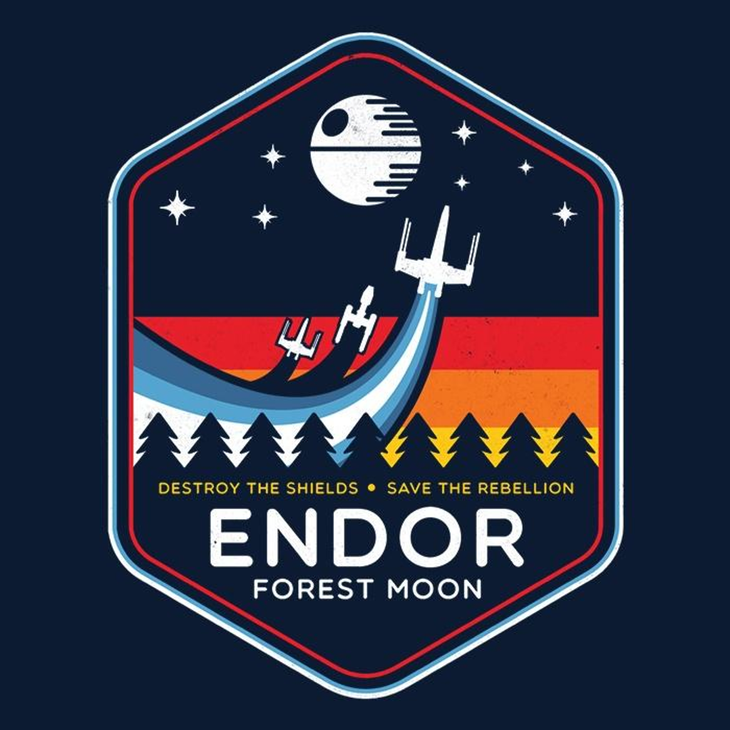 Once Upon a Tee: The Battle of Endor
