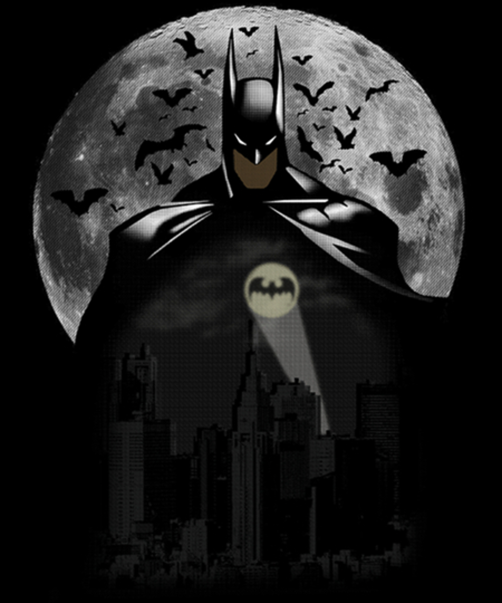 Qwertee: BatMoon