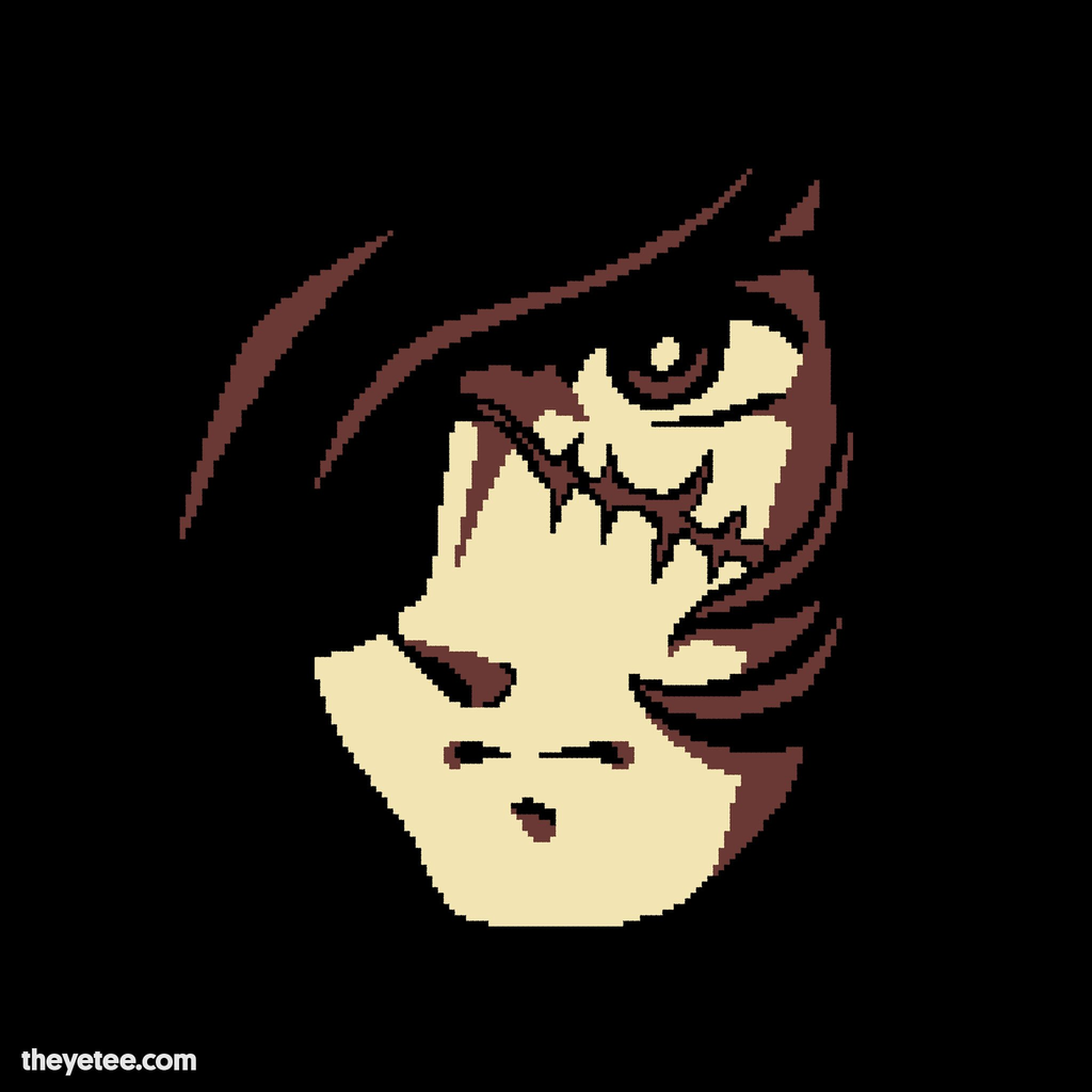 The Yetee: 8bit Space Pirate
