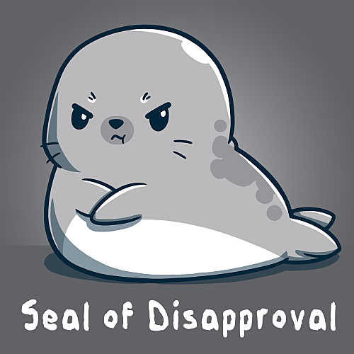 TeeTurtle: Seal of Disapproval