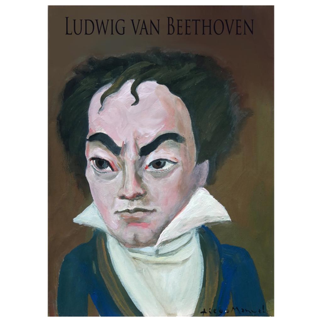 NeatoShop: Ludwig van Beethoven portrait