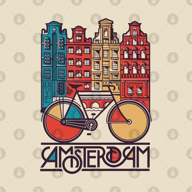 TeePublic: Amsterdam