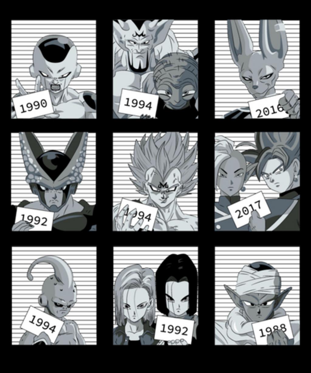 Qwertee: Dragon Villains Jail