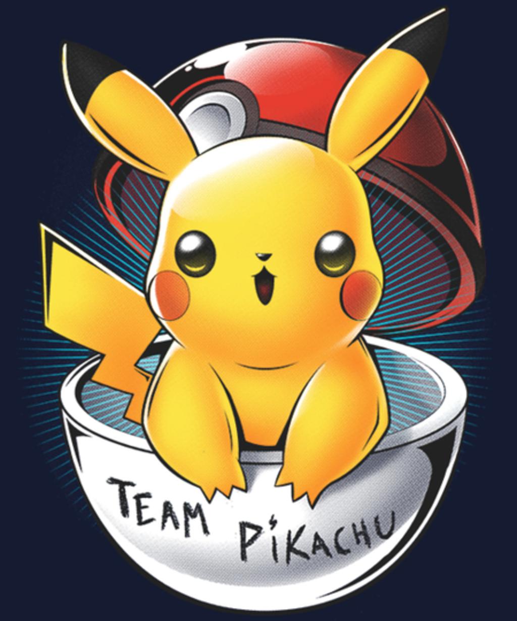 Qwertee: Team Pikachu