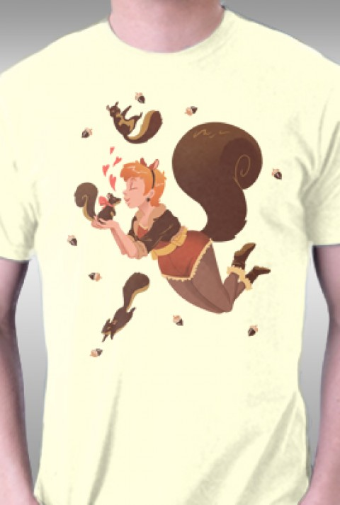 TeeFury: Nuts About Squirrel Girl