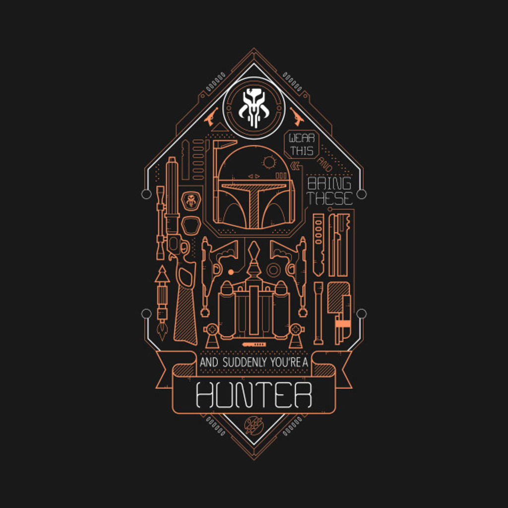 "TeePublic: the ""Hunter"" dress code"