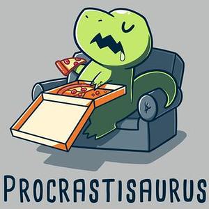 TeeTurtle: Procrastisaurus