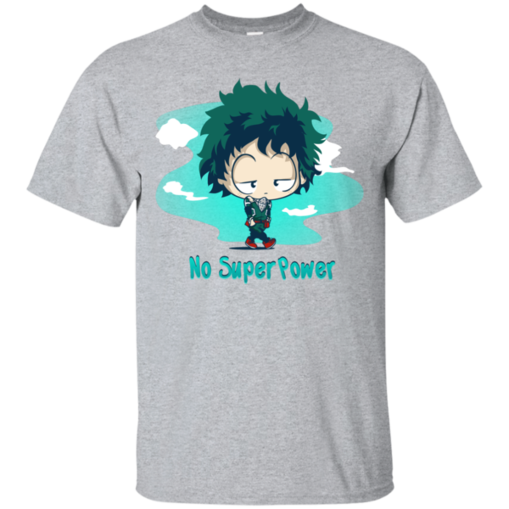 Pop-Up Tee: No Super Power