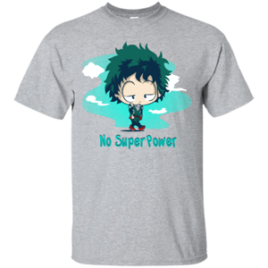 Pop-Up Tee: No Super Power