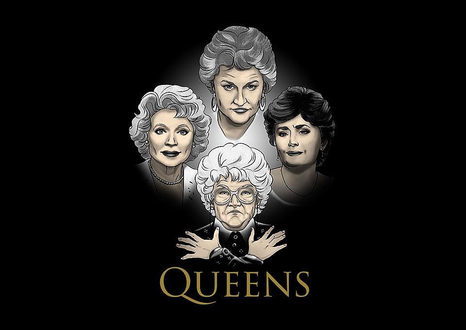 TeeFury: Golden Queens