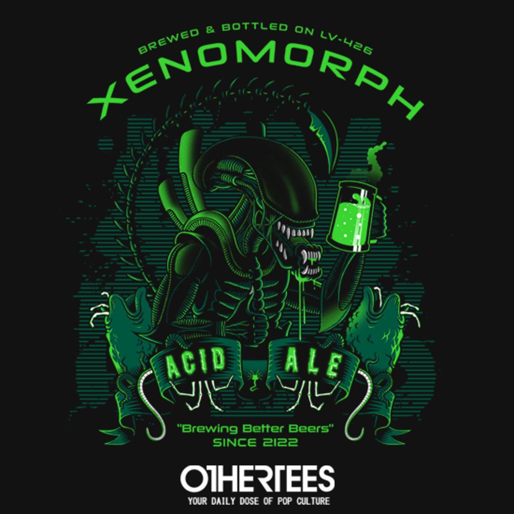 OtherTees: Xeno's Acid Ale