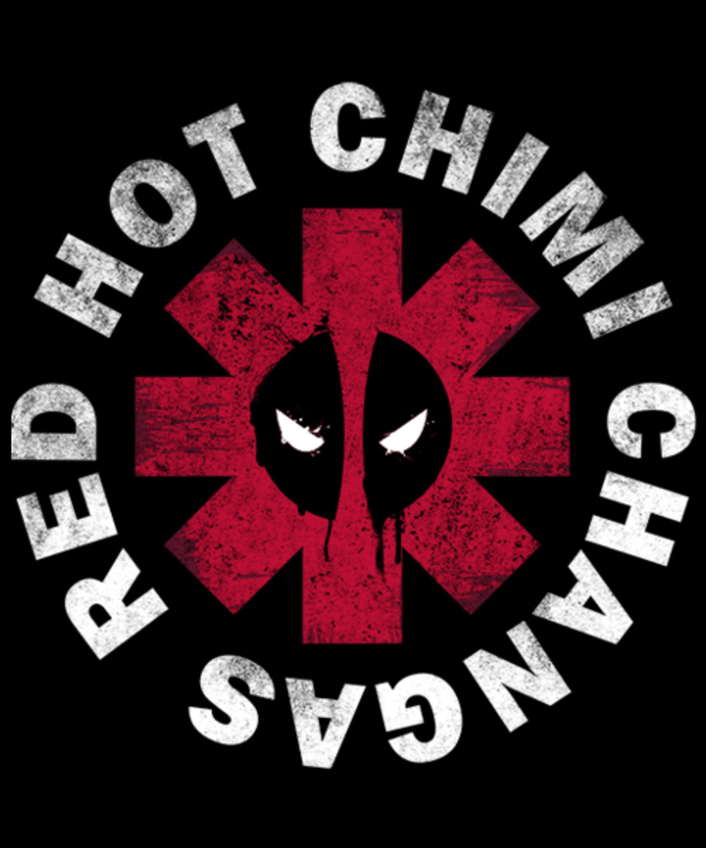 Qwertee: Red Hot Chimi Changas