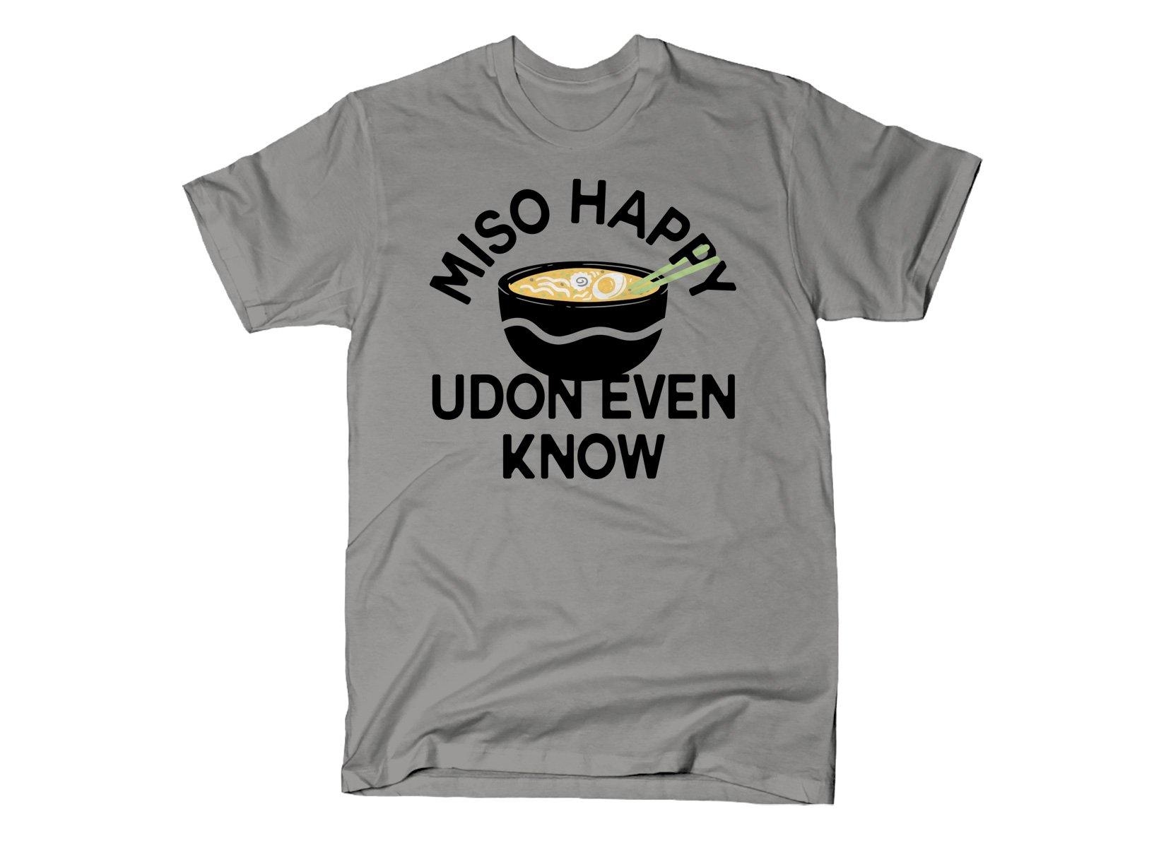 SnorgTees: Miso Happy