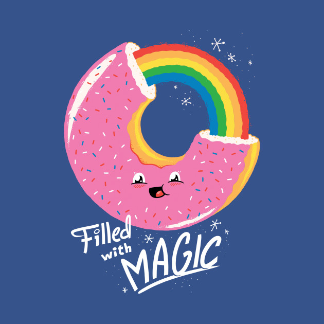 TeePublic: Filled With Magic