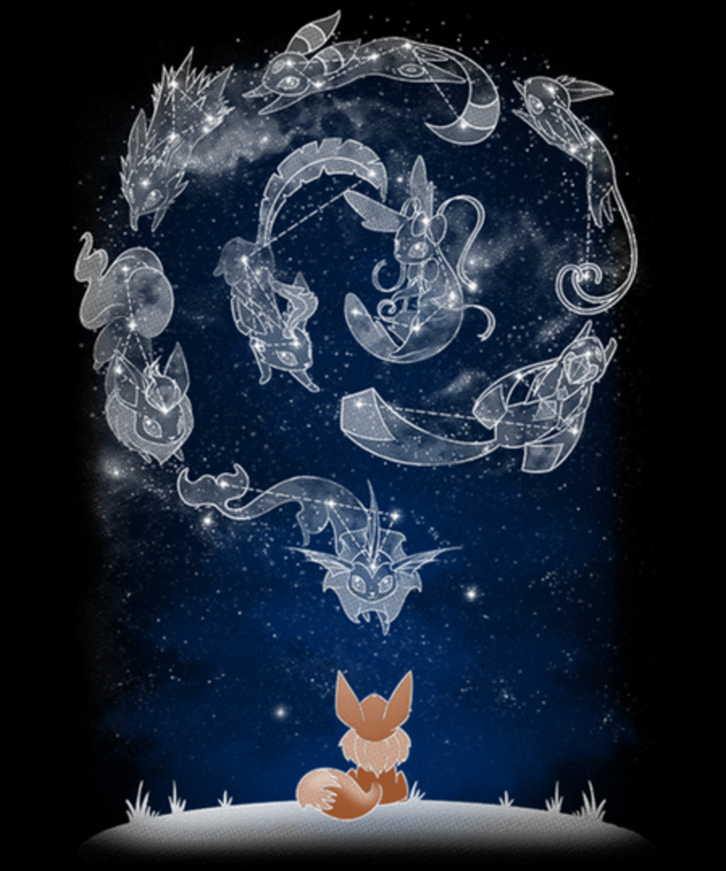 Qwertee: Starry Evolutions