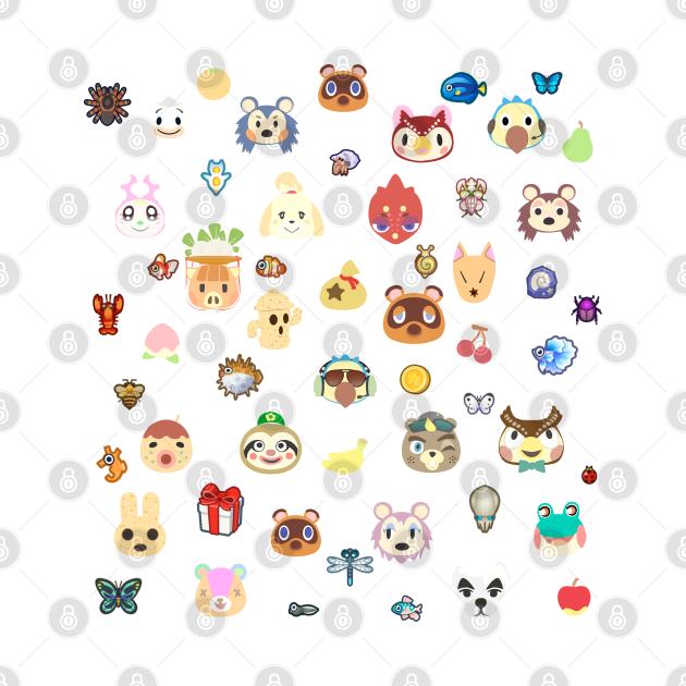 TeePublic: ac cute pattern