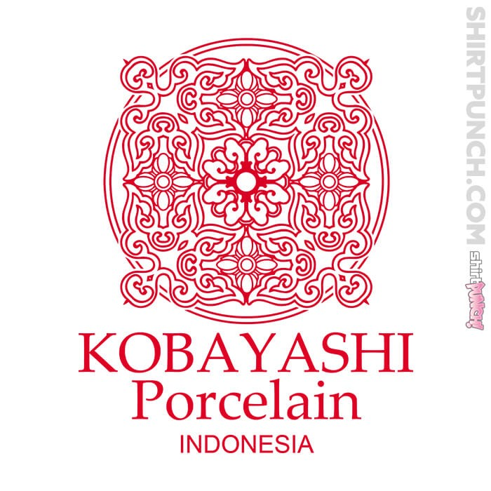 ShirtPunch: Kobayashi Porcelain