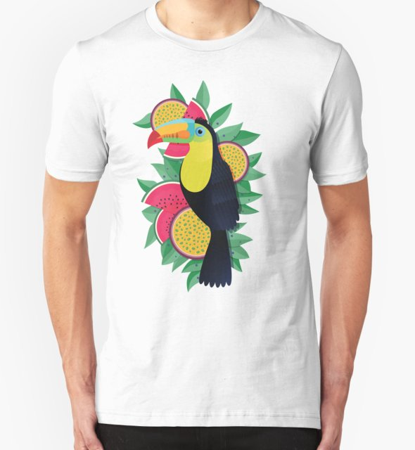 RedBubble: Tropical toucan