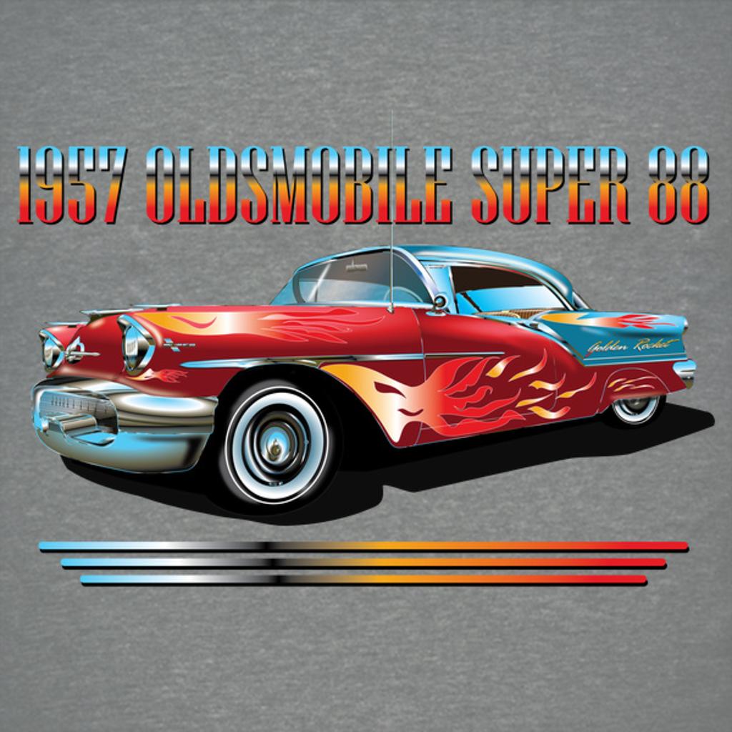 NeatoShop: OLDSMOBILE SUPER 88 1957 RACING EDITION