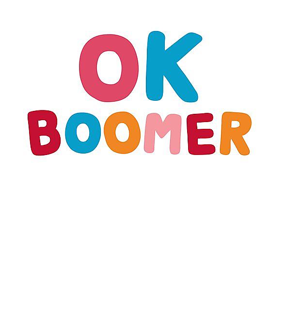 RedBubble: Ok boomer