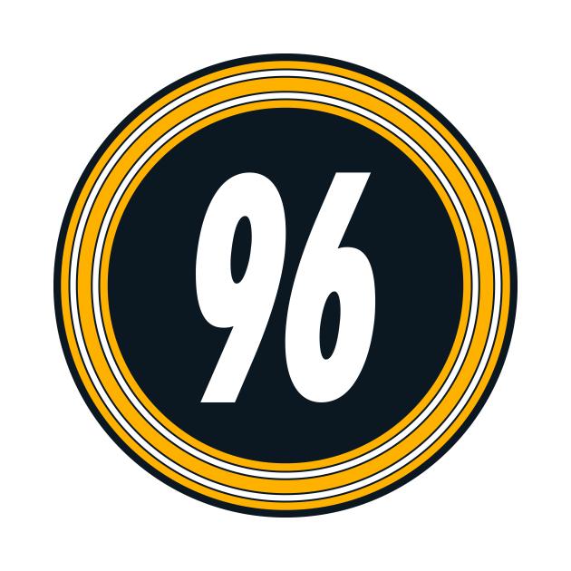 TeePublic: Isaiah Buggs Number 96 Jersey Pittsburgh Steelers Inspired