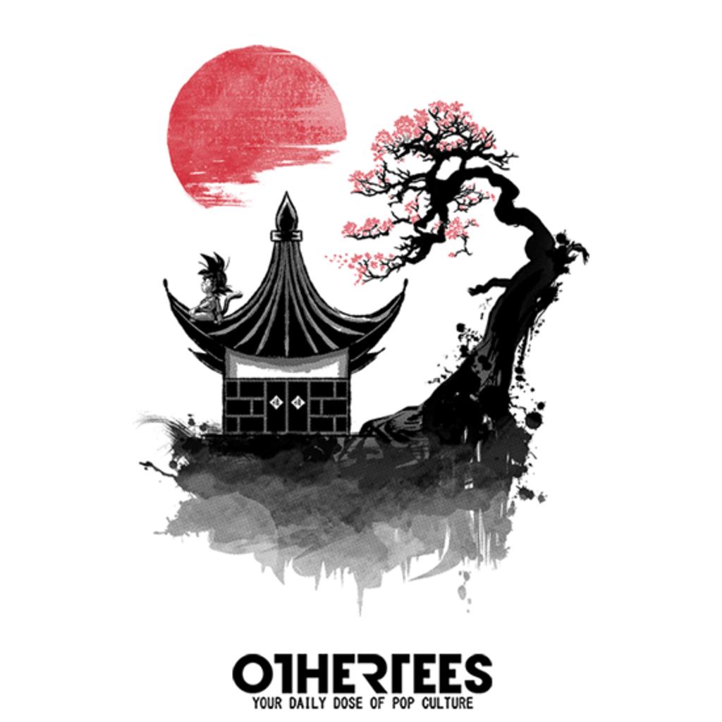 OtherTees: Red sun saiyan