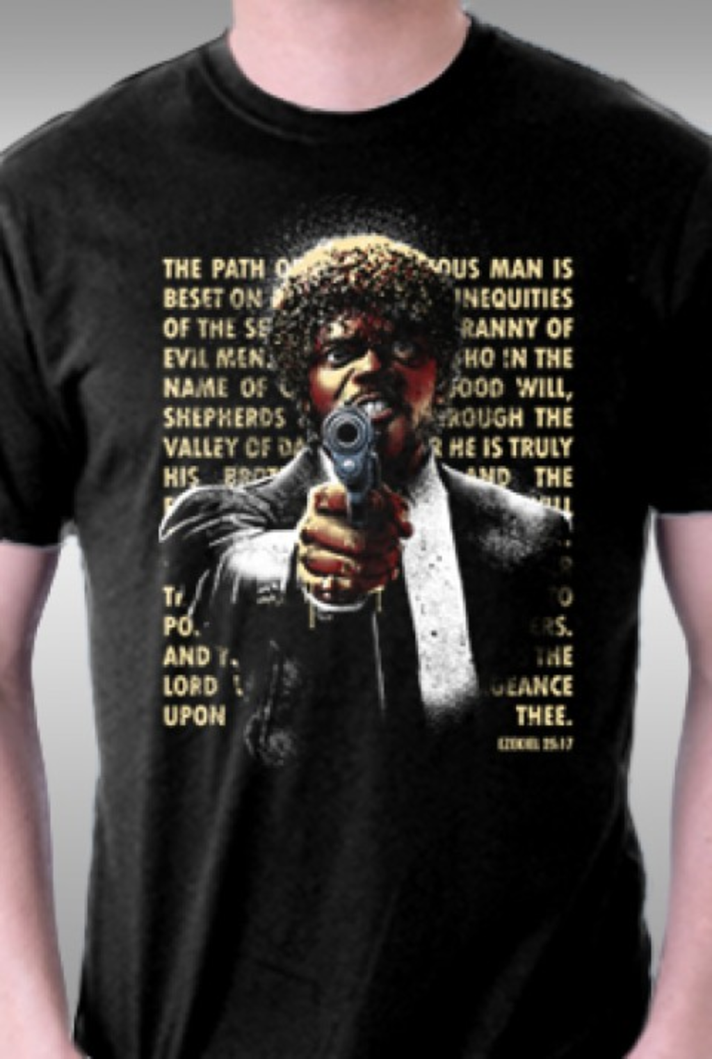 TeeFury: The Path of the Righteous Man