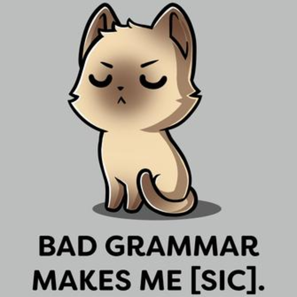 TeeTurtle: Bad Grammar